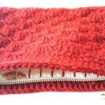 松編み赤ポーチ03